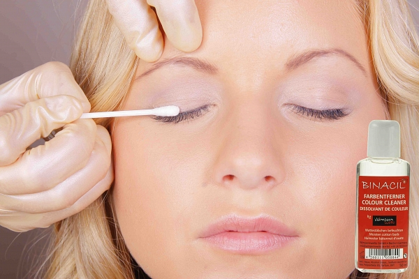 BINACIL Eyelash & Eyebrow Tint - Instruction Step 11