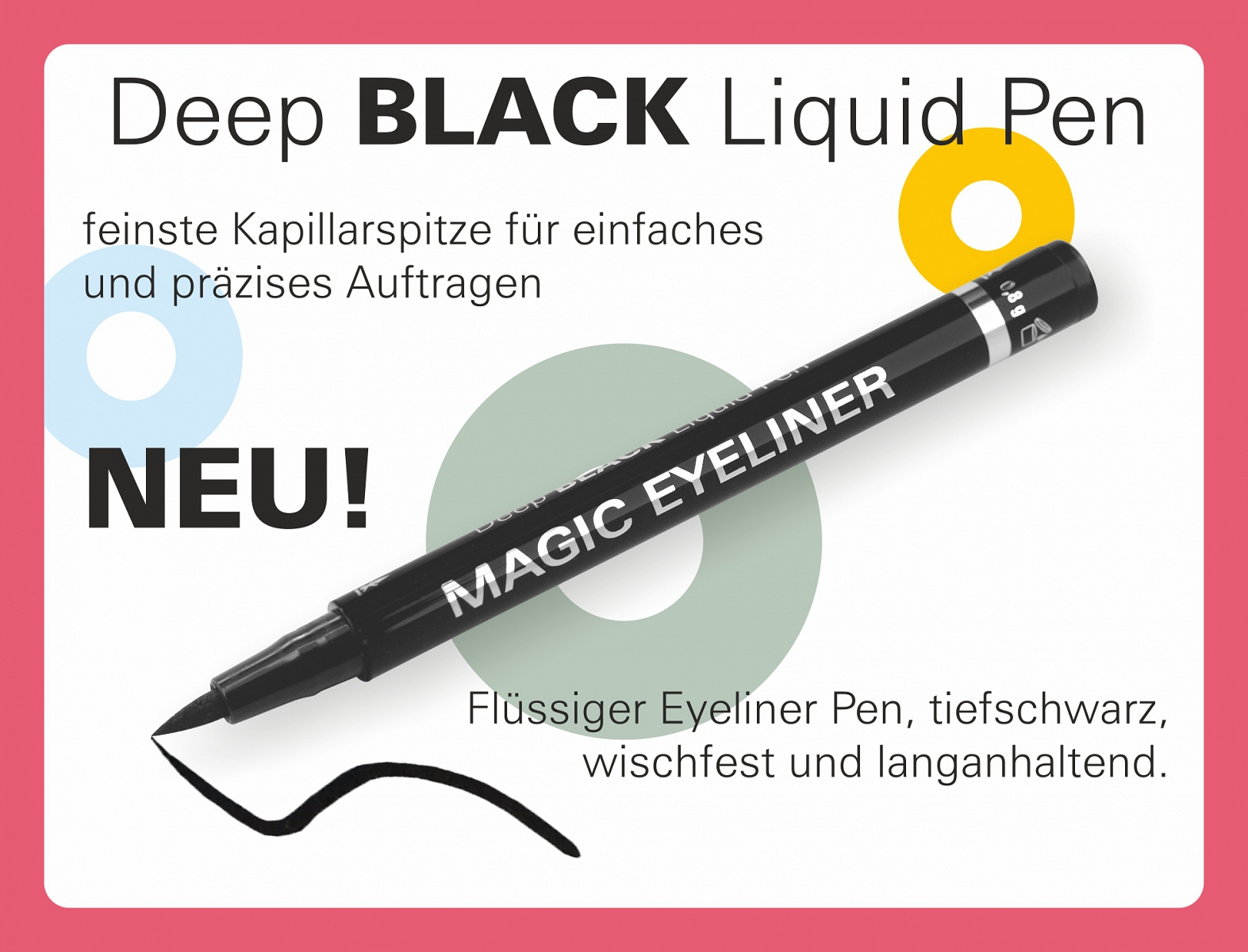 Deep BLACK Liquid Pen