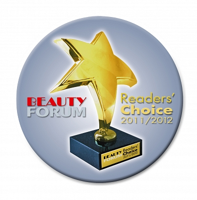 Wimpernwelle nominiert für den BEAUTY FORUM Readers Choice 2011